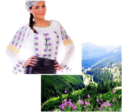 The nature is our inspiration. #florideie #fashion #style #unique #colorful #design #romania #nature #flowers #embroidery