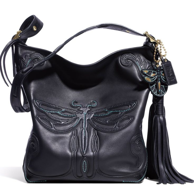 Coach and Anna Sui - The Coach Legacy Anna Sui Dragonfly Duffle, another on the wishlist.