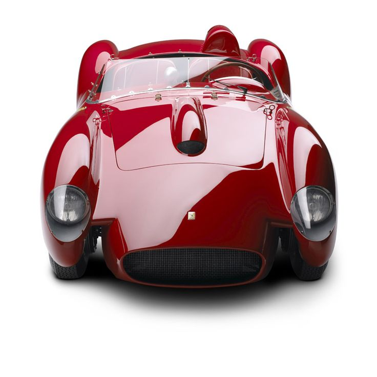 "Ferrari 250 Testa Rossa, 1958 from Ralph Lauren's personal collection now on exhibit ""The Art of the Automobile"""