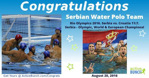 Men's Water Polo Gold Medal Match – Rio Olympics 2016. Serbia vs. Croatia 11:7   Serbia - Olympic, World & European Champions!  Italy won bronze medal in match vs. Montenegro – 12:10  #news #waterpolo #RioOlympics2016 #Rio2016 #Serbia #Srbija #SRB #CRO #MNE #ITA