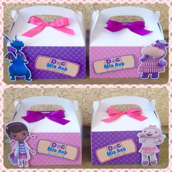 Hey, I found this really awesome Etsy listing at https://www.etsy.com/listing/241136314/doc-mcstuffins-favor-boxes