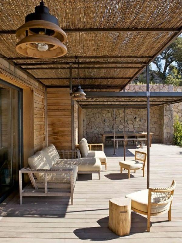 Comment abriter sa terrasse du soleil