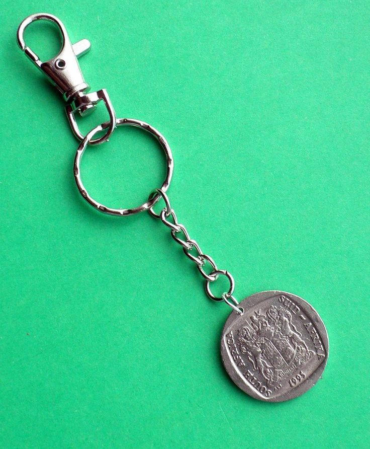 21st Birthday South African Coin Keyring Keychain, Personalise this Keychain…