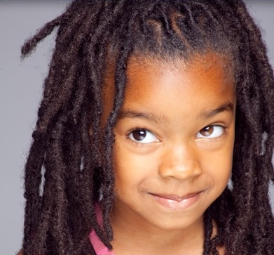 Who says kids can't have locs? Check this little one with her long #naturalhair