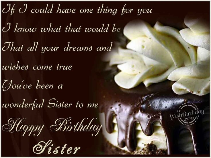 Happy Birthday Sister Messages | This picture was submitted by Gagandeep kaur.