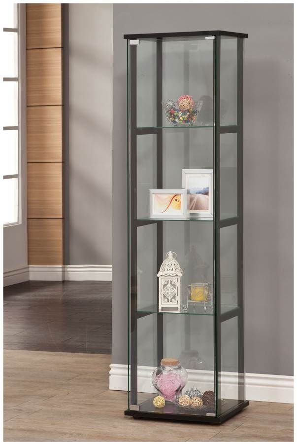 Elegant Trophy Display Cabinets with Glass Doors