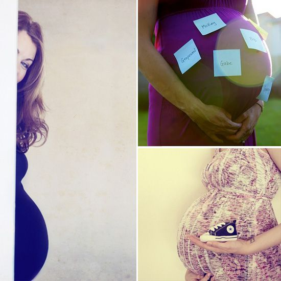 Pregnant Picture Ideas - Maternity Photo Shoot