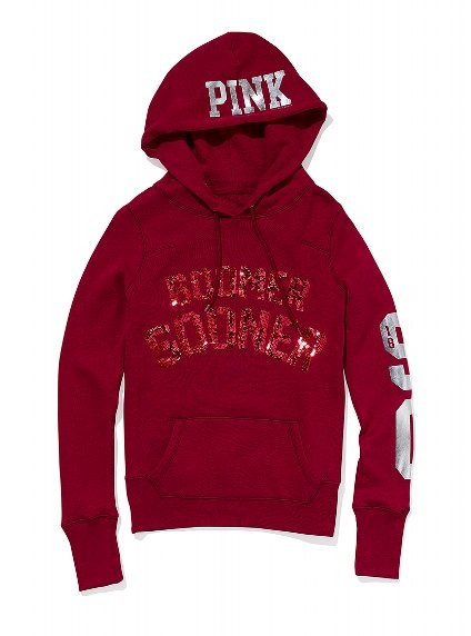 University of Oklahoma Bling Pullover Hoodie - i want this!!!