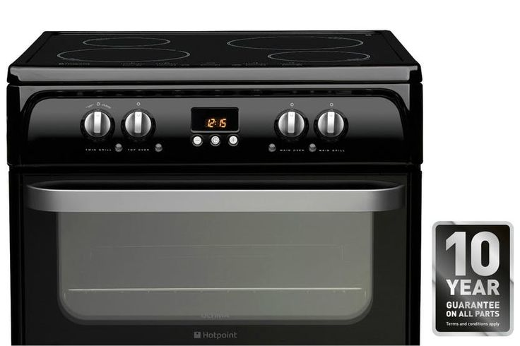 Hotpoint 60cm Electric Cooker | HUI614K | Ireland