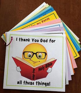 Bible Fun For Kids: I Thank You God for Everything Book