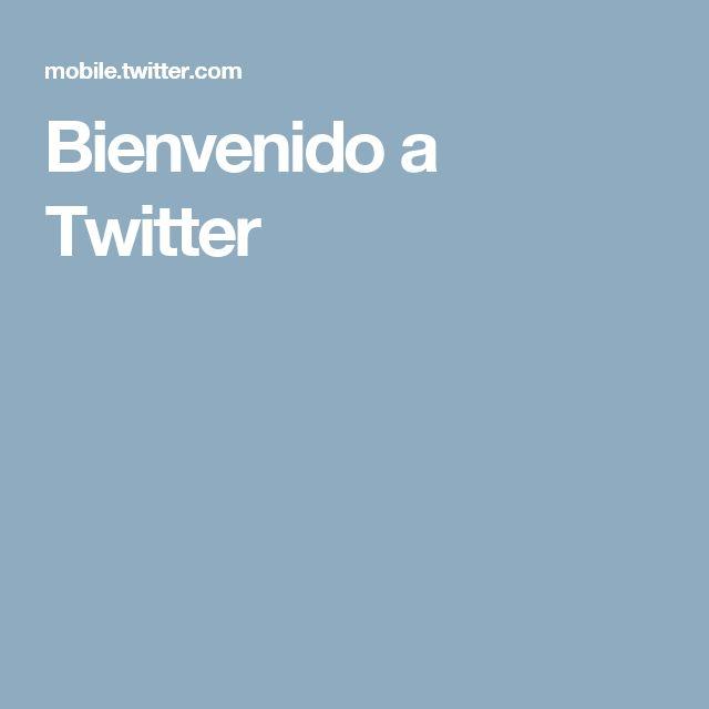 Bienvenido a Twitter