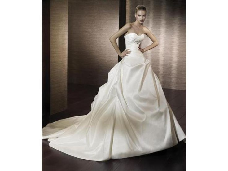 San Patrick Bridal Style Capri-Size 14-Ivory/Natural- #PB 6