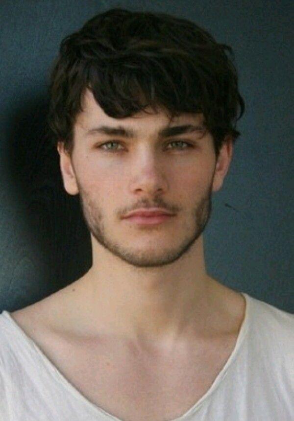 Oscar Spendrup Brown Hair Men Black Hair Green Eyes Character Inspiration Male