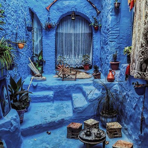 Chauen, Chaouen, Morocco Photo by @zackariaouad