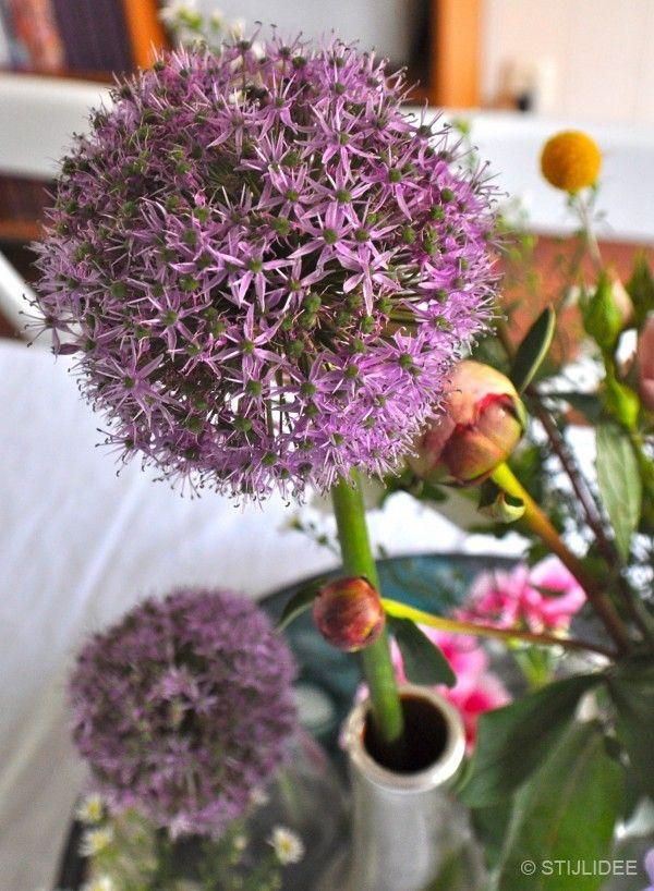 Haal de zomer in huis met styling van zomerbloemen | Fotografie: STIJLIDEE Interieuradvies en Styling via www.stijlidee.nl