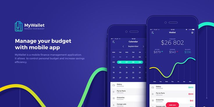 MyWallet - Manage Your Budget on Behance