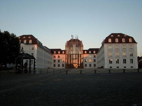 Awesome Das Saarbr cker Schloss einstmals bewohnt von den Grafen zu Nassau Saarbr cken heute ein