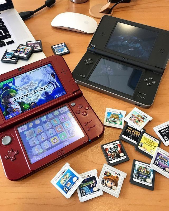 Nintendo 3ds Ds What Are U Playing Now Nintendo Game Consoles