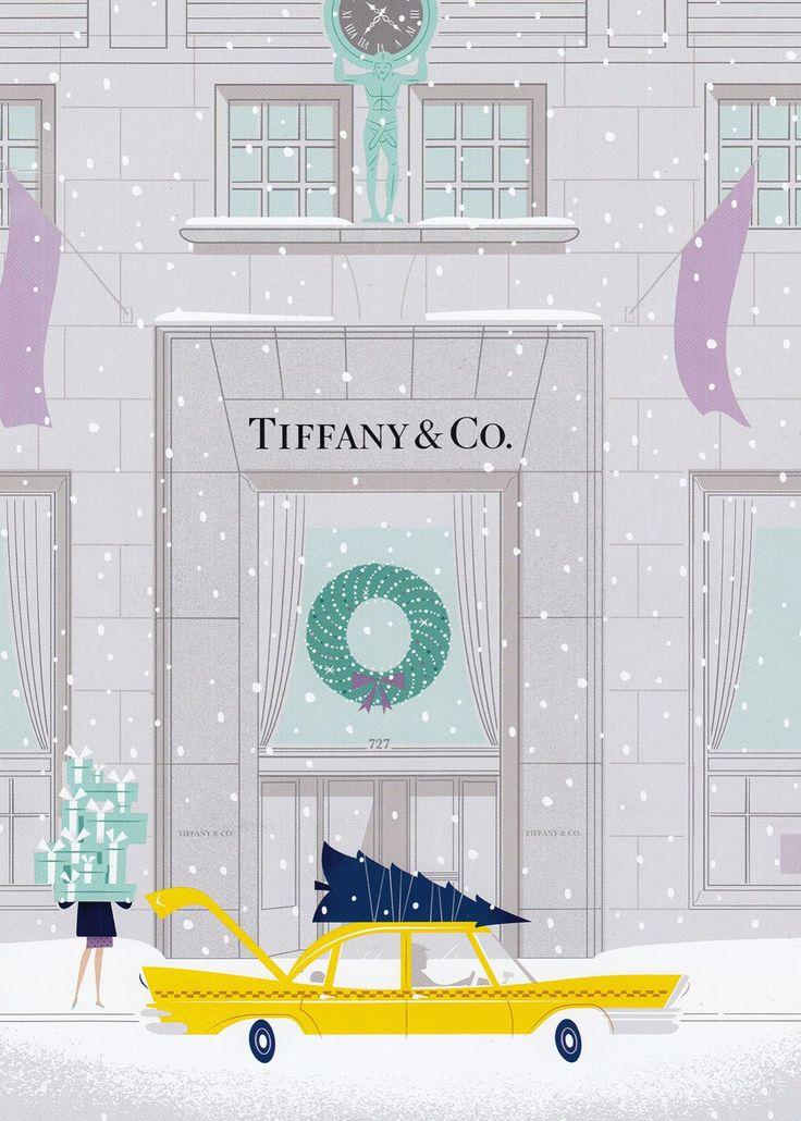 Tiffany & Co. 2014 Holiday Catalog Illustrations - Imgur