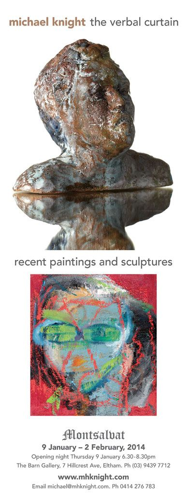 Upcoming exhibition - January 2014, Montsalvat, Melbourne.