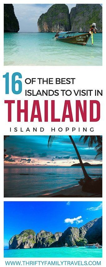 Thailand islands and beaches: the best Thailand islands for Thailand island hopping | Phuket | Koh Lanta | Koh Samui | Phi Phi |