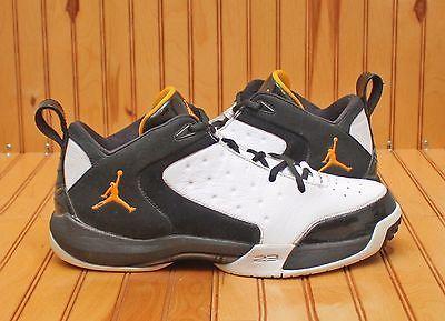 2008 Nike Air Jordan ONE 4 Size 12 - Black White Yellow Taxi - 352711 171
