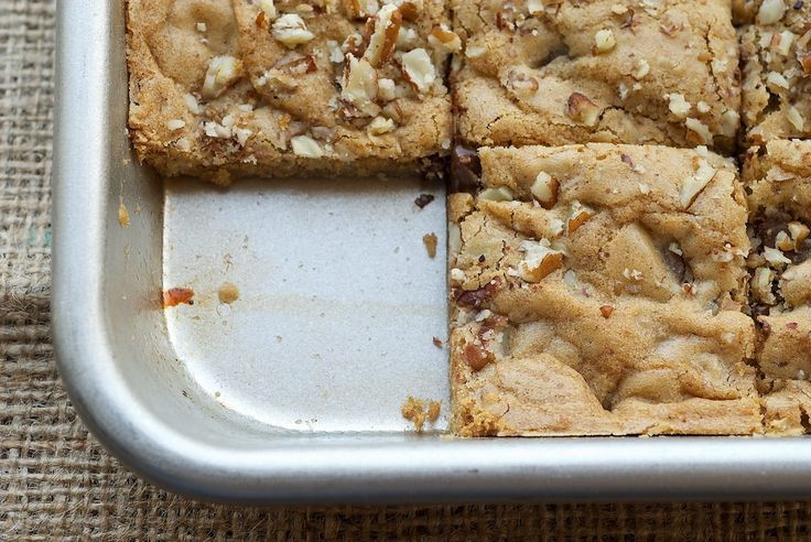 Toffee Nut Squares | Bake or Break