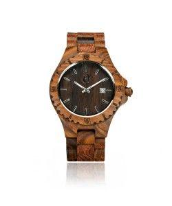 Hoentjen, houten horloge – Bora Bora 95 euro