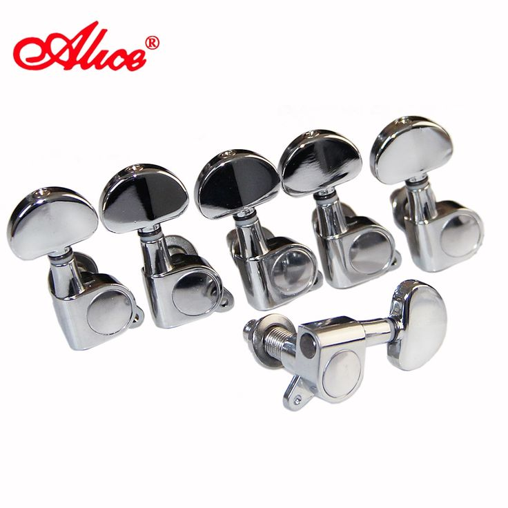 14.30$  Watch now - http://alivjy.shopchina.info/1/go.php?t=32622698315 - Alice Tuning Pegs Guitar Machine Heads single chrome-plated locked Machine Head For Left-Hand guitar 14.30$ #shopstyle