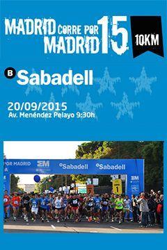Acceso web oficial de MADRID CORRE POR MADRID