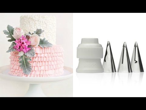 How to make a ruffle cake WITH NEW TIPS! - CAKE STYLE - YouTube