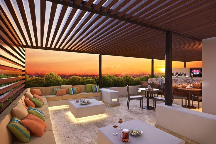 Un Sky Lounge para que termines tus días en un ambiente de sueños.