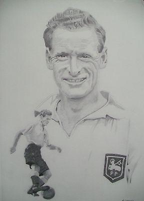 Sir Tom Finney Preston North End Ltd Edition Print in Sports Memorabilia, Football Memorabilia, Autographs (Original) | eBay