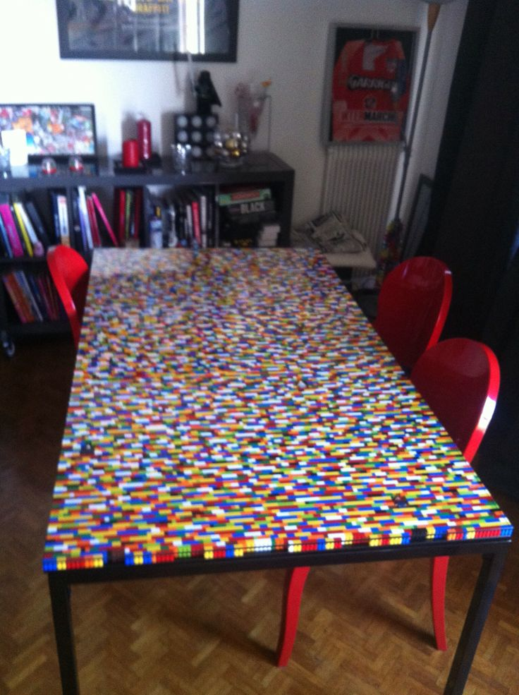 lego table home deco pinterest lego table and lego. Black Bedroom Furniture Sets. Home Design Ideas