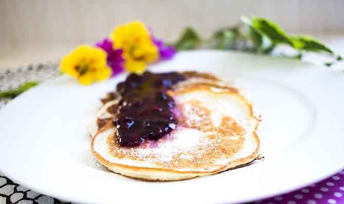 Low Carb Buttermilch Pancakes