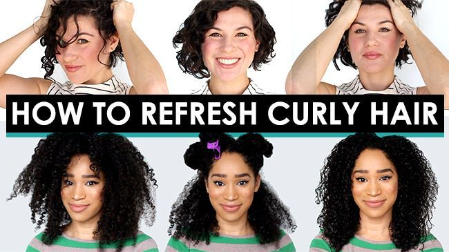 How To Style Curly Second Day Hair Curly Hair Styles Naturally Curly Hair Styles Second Day Hairstyles