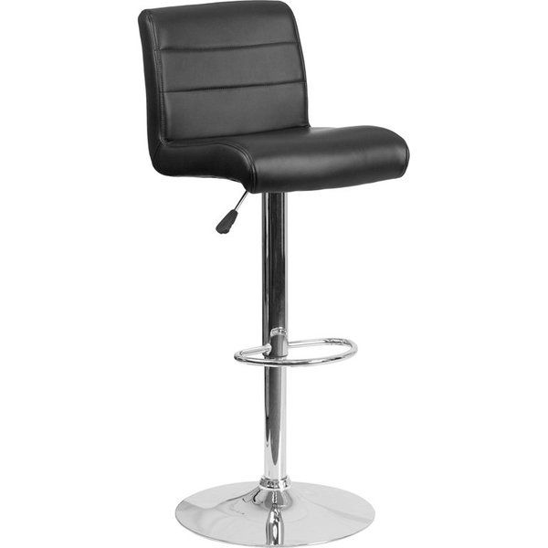 Whelan Mid Back Adjustable Height Swivel Bar Stool Adjustable