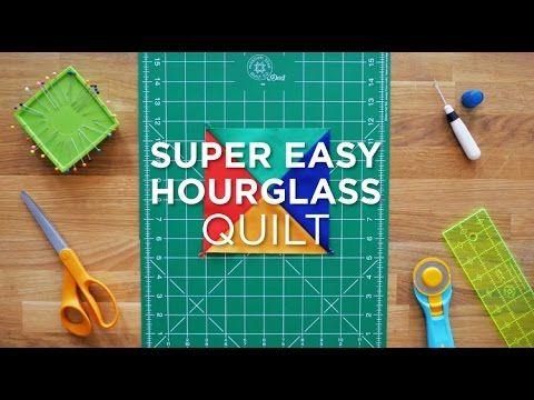 Super Easy Hourglass - Quilt Snips Mini Tutorial
