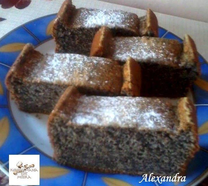 Habkönnyű màkos süti - MindenegybenBlog