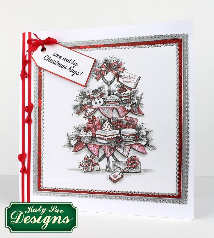 Greyscale Christmas Collection | Katy Sue Designs