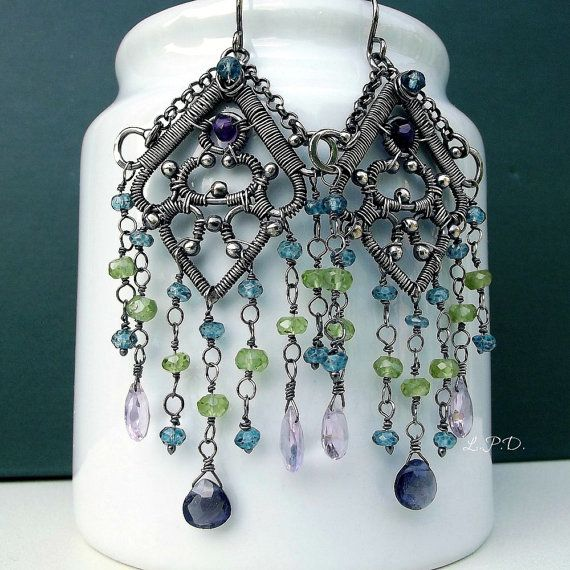 134 best Atelier Mediterraneo Jewelry. images on Pinterest | Wire ...