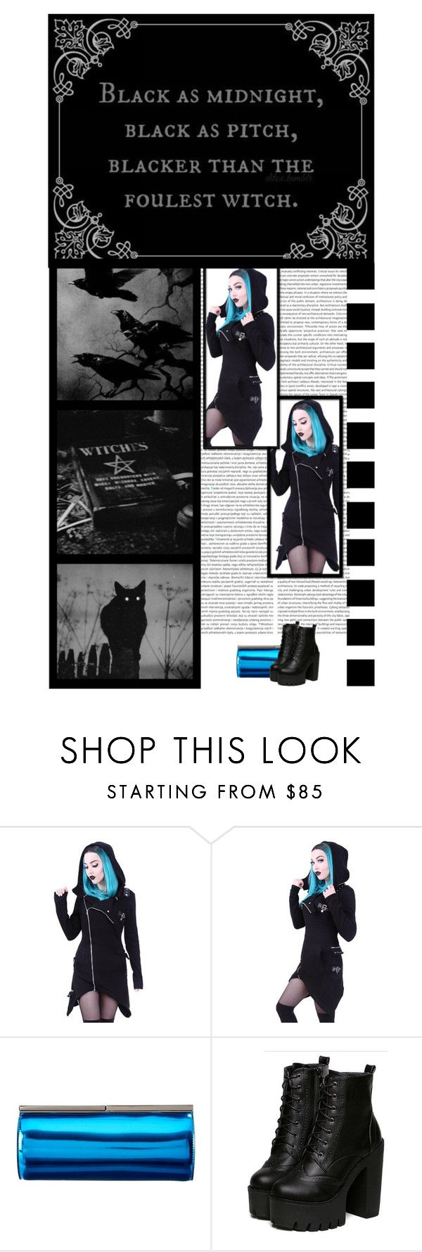 """""""The Gothic Shop (48)"""" by irresistible-livingdeadgirl ❤ liked on Polyvore featuring Jimmy Choo, black, emo, jimmychoo, gothic, polyvoreeditorial, goth, casualoutfit, witch and 666"""