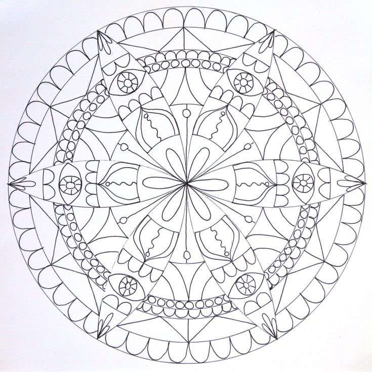 41 best Mandala images on Pinterest | Mandalas, Mandala ...