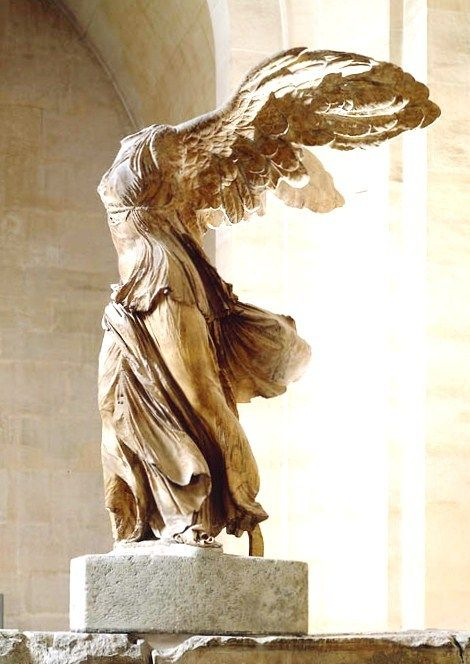 The Nike of Samothrace at Le Louvre