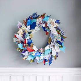 adult crafts using recycled materials photos | Below is given the list of recycled Christmas crafts ideas :