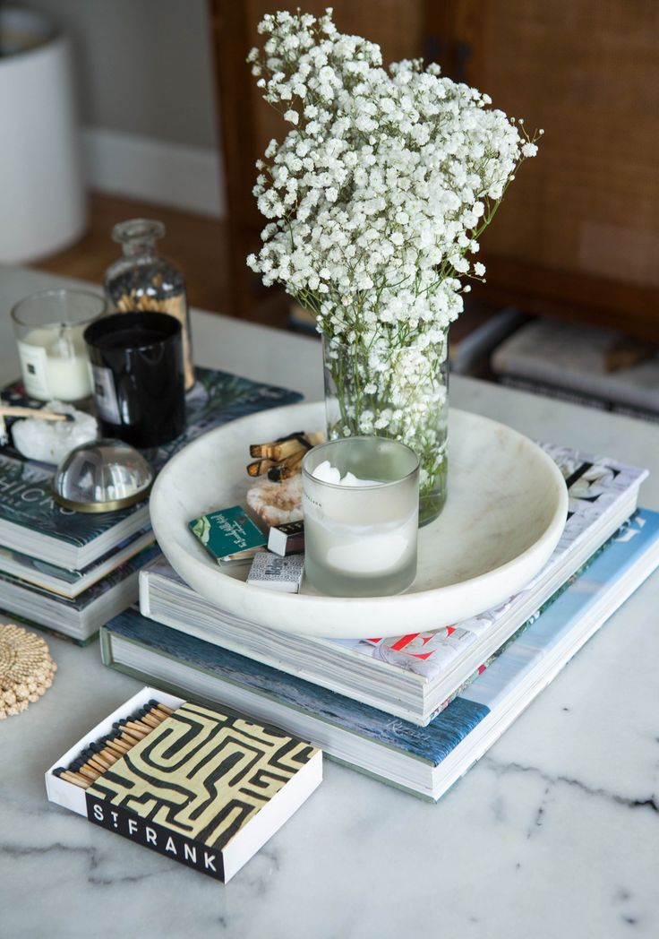 Collected and Eclectic Coffee Table Styling — Brunch on Chestnut
