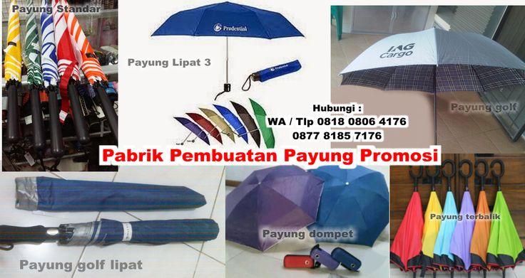 Pabrik Pembuatan Payung Promosi di Tangerang