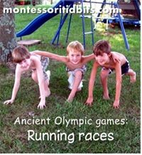 Celebrating the Ancient Olympic Games from Montessori Tidbits