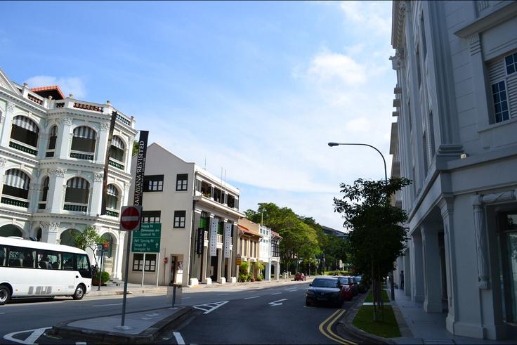 Street View near Singapore Peranakan Museum