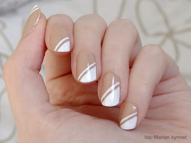 Ida-Marian kynnet / French manicure / #Nails #Nailart